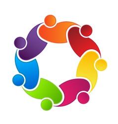 Social Friendship vector image vector image