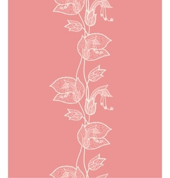 Flower lacy pattern vector image vector image