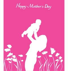 mother child vector image vector image