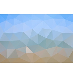Abstract geometric rumpled triangular background vector image vector image