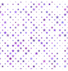 Abstract seamless star pattern background vector