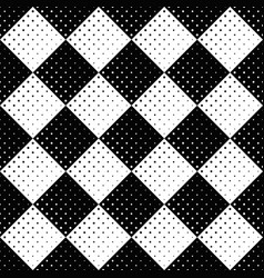 black and white circle pattern background design vector image
