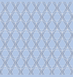 blue delicate lines symbolic geometric repeat vector image