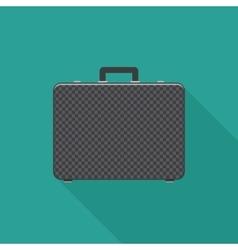 Briefcase flat icon vector image