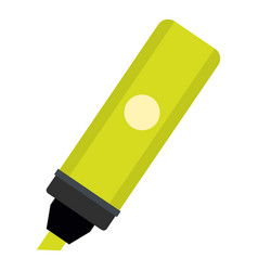 Highlighter icon isolated vector