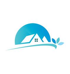 House abstract logo design template vector