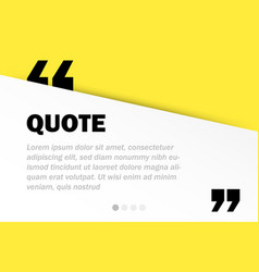 rectangle motivation quote template background vector image