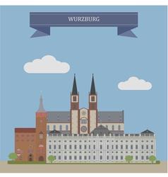 Wurzburg vector image vector image