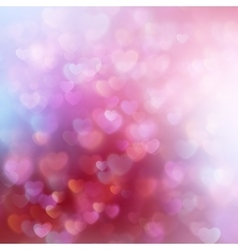 Valentine s day background EPS 10 vector image