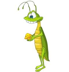 Cartoon character locust vector
