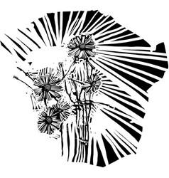 Batch flowers vector