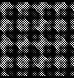black and white geometrical seamless circle vector image