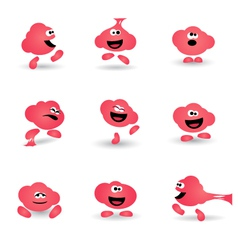 BUBBLE GUM CHARACTER vector