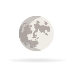 crescent moon 11 vector image