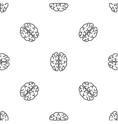 genius brain pattern seamless vector image