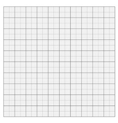 Gray grid paper vector