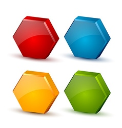Honeycomb icons vector
