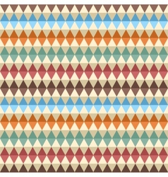 Rhombic seamless pattern vector image