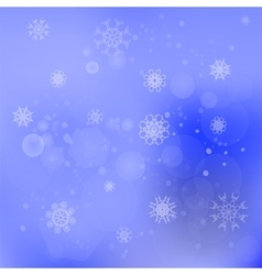 Snow Flakes Background vector image