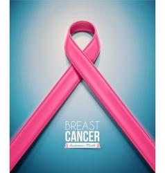 Pink Ribbon vector image