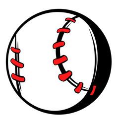 Baseball ball icon icon cartoon vector