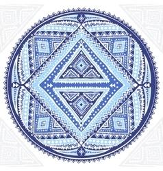 Beautiful Aztec tribal mandala ornament vector