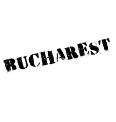 Bucharest stamp rubber grunge vector