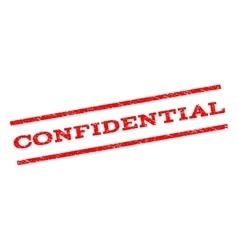 Confidential watermark stamp vector