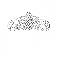 Decorative motif vector