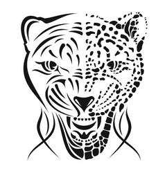 leopard 0002 rage vector image