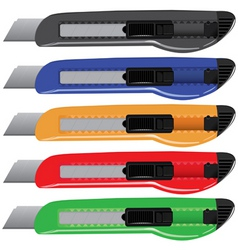 paperknife set vector image