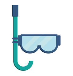 Snorkel mask icon image vector