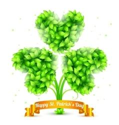 St Patrick Day Congratulation vector image