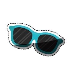 Summer sun glasses vector