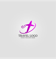 Travel logo template logo for business corporate vector