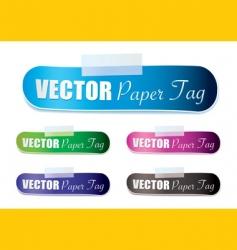 lozenge tag vector image vector image