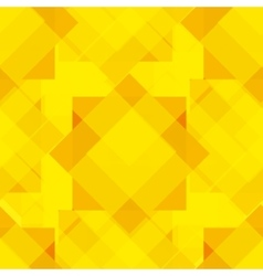 Seamless yellow geometrical pattern vector image