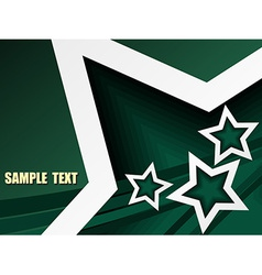 Star design vector image