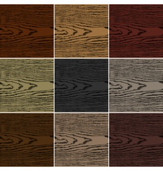 Dark color wood texture background vector image