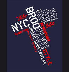 Nyc brooklyn sport 0001 vector