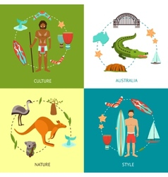 Australia Design Concept vector image