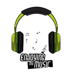 cool music concept print for tshirt vector image