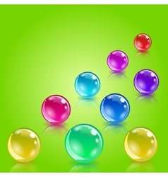 lottery balls as metaphor for lottery vector image
