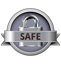 security lock vector image