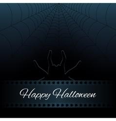 Happy Halloween background vector image vector image
