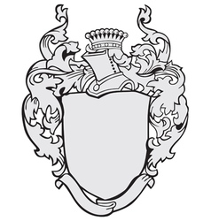 aristocratic emblem No12 vector image