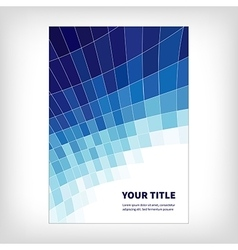Dynamics abstract brochure background vector