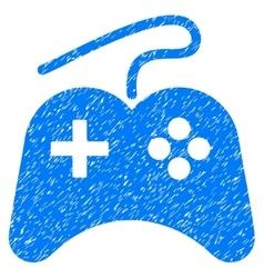 Gamepad Grainy Texture Icon vector