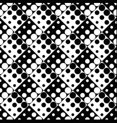 geometrical seamless dot pattern background vector image