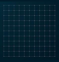 Hud grid modern interface grid for futuristic vector